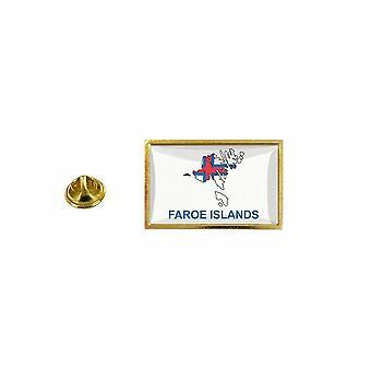pine pine pine badge pine pin-apos;s flag country map FO islands feroe