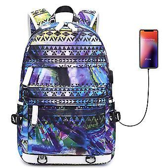 حقيبة ظهر السفر ملونة للماء
