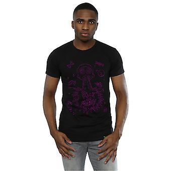 Absolútna kultový muži ' s Rick a Morty priestor Puke T-shirt