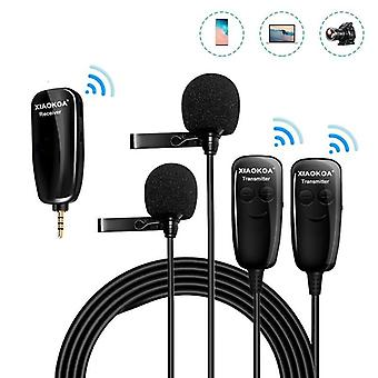 Wireless Microphone Recording For Iphone / Ipad / Pc / Android Dslr