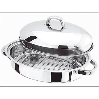 Judge Basics Mini Oval Roaster & Rack Stainless Steel H017