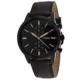 Fossil Men's Townsman Brown Dial Watch - FS5437