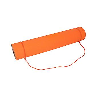 Yogamasti ممارسة لزجة اليوغا حصيرة 6mm - البرتقال / الزيتون