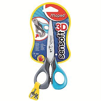"5"" Sensoft Scissors With Flexiable Handles - Lefty"