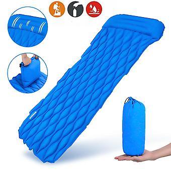 20D Inflatable Sleeping Pad 195x61x6cm Lightweight Portable Air Mattresses Waterproof Camping Mat Co