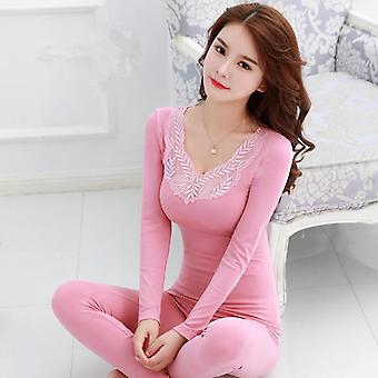 Langer Anzug Winter Warm Unterwäsche Body Slim Intimate Pyjamas Thermal