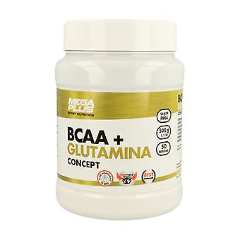 BCAA + Glutamine Concept (pineapple flavor) 500 g (Pineapple)