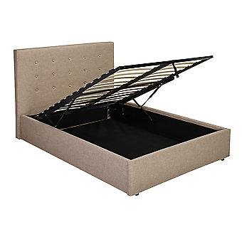 Lerny Plus 4.6 Double Bed Beige