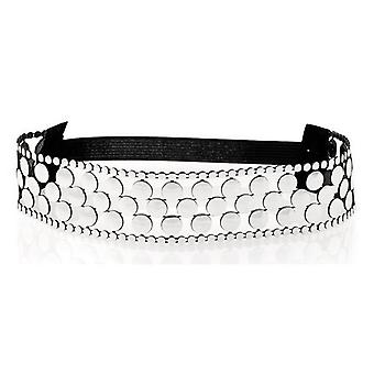 BigBuy Silver Headband (Health & Beauty , Personal Care , Cosmetics , Cosmetic Sets)