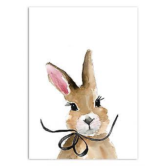 Art-Poster - Kokarda bunny - Mercedes Lopez Charro