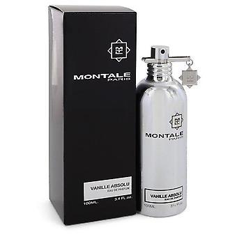 Montale Vanille Absolu Eau De Parfum Spray (Unisex) By Montale 3.4 oz Eau De Parfum Spray