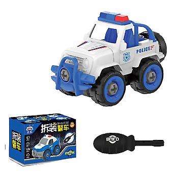 Children's detachable escort car toy