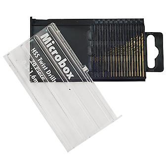 Rolson 48304 20pc Micro HSS Drill Bit Set