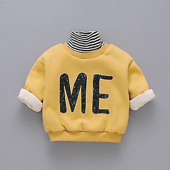 Winter Clothes Plus Velvet Thickening Turtleneck Sweaters/girls