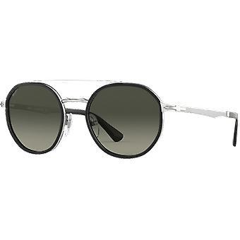 Persol 2456S Sølv/Sort nedbrudt grå