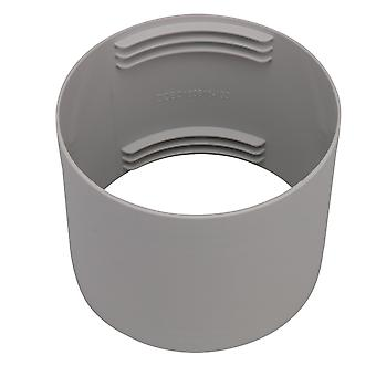 Grey Circular Interface Exhaust Pipe Connector 13cm Inner Diameter