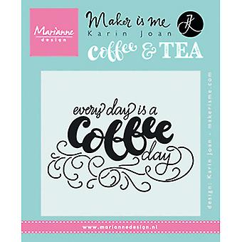 Marianne Design Every Day Is A Coffee Day Stamps