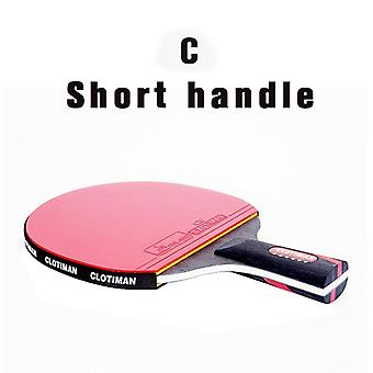 High-quality Carbon Bat Table Tennis Racket With A Rubber Pingpong Paddle