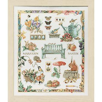 Lanarte Cuenta Cruz Stitch Kit: Collage