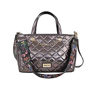 For Time Bolso de mano y bandolera Taysan - Women's shoulder bags, Silver (Plata), 11x21x29 cm (W x H L)