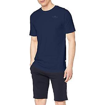 G-STAR RAW Korpaz Grafisk T-Shirt, Svart (Pacific 1862), Small Man