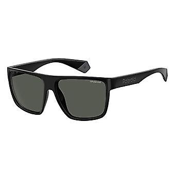 Polaroid Okulary PLD 6076/S, Okulary przeciwsłoneczne dla mężczyzn, Czarny, 60
