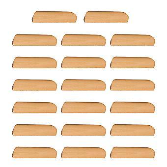 20 PCS Holz Farbe Schrank Schublade Griff Loch Pitch 96mm für Möbel