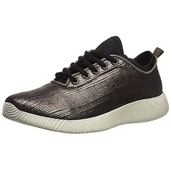 Qupid Womens SpyRock -08 Fabric Low Top Lace Up Fashion Sneakers