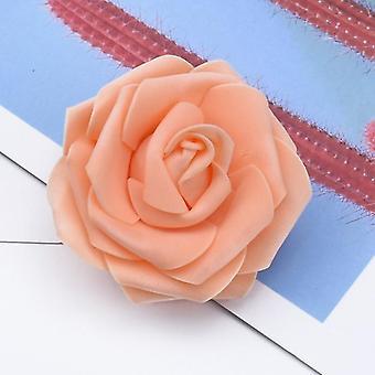 泡テディベアのバラのDIYボックス、結婚式の家の装飾、ブライダルアクセサリー、