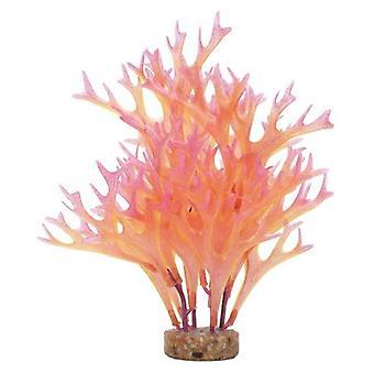 Fluval Pembe Wisteria Bitki (Sürüngenler, Dekorasyon, Yapay Bitkiler)