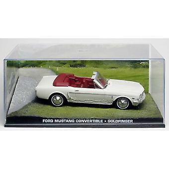 Ford Mustang Convertible de James Bond en Blanco (escala 1:43 por Ex Mag DY035)