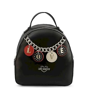 Love Moschino - Bags - Backpacks - JC4225PP0BKD-0000 - Ladies - black,gold