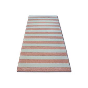 Rug SKETCH - F758 pink/cream - Strips