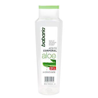 Fuktgivande olja Babaria Aloe Vera (400 ml)