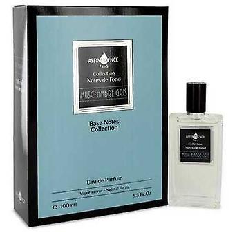 Musc Ambre Gris By Affinessence Eau De Parfum Spray (unisex) 3.3 Oz (women) V728-543722
