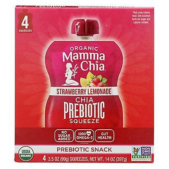 Mammachia Chia Sqz Prbtc Strw Lmnad, Case of 6 X 14 Oz