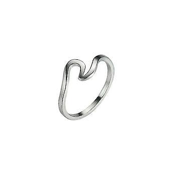 Stil der Wellen Spindrift Ringe unregelmäßige schlanke Mode Persönlichkeit kreative Gelenk Schwanz Ring
