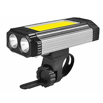 COB Luz de trabajo LED Linterna bicicleta Faro de camping Antorcha USB recargable