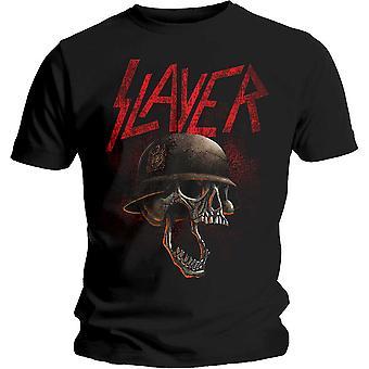 Slayer - Hellmitt Unisex Camiseta Media - Negro