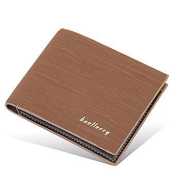 Pánská peněženka otevřená peněženka s krátkými mincemi peněženka s více kartami kapesní peněženka