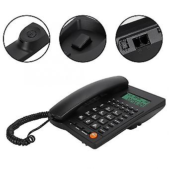 新しい固定電話発信者ID電話のデスクトップコードダイヤルバック番号ストレージsm48360