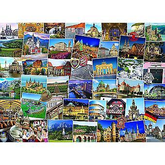 Eurographics Globetrotter Allemagne Puzzle (1000 Pièces)