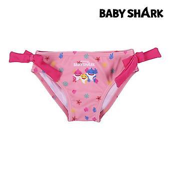 بيكيني قيعان للبنات بيبي القرش الوردي