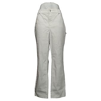 NYDJ Femmes Plus Jeans18 Marilyn Straight dans Cool Embrace White A395678