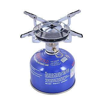 3500W mini camping gas stoves portable ultra-light foldable gas burners one-piece camping stoves picnic cooking stove furnace