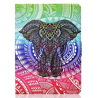 Case For Ipad Pro 11 2020 Cover With Auto Sleep/wake Pattern Magnetic - Elephant