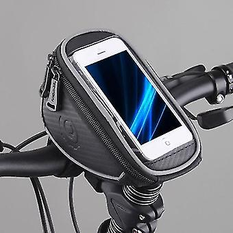 Bicycle bags panniers cycling bike bicycle front top frame handlebar bag pouch for 5in cellphone 1l 11810