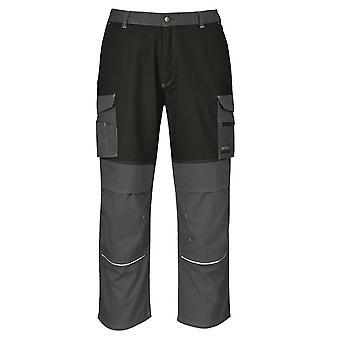 Portwest Męskie Spodnie robocze granitowe