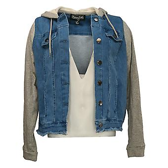 Brittany Humble Women's Jacket Reg Hooded Blue 762677