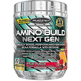Amino Build - Next Gen, Fruit Punch - 279 grams